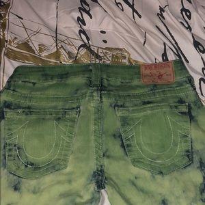 Ty dye true religion jeans